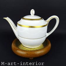 Art Déco Teekanne Gold-Girlanden Tea Pot Tirschenreuth Bavaria um 1927-1930er