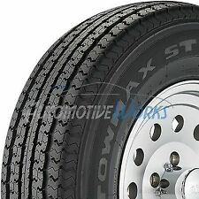 St205/75-15 Towmax Str II 8 Ply D Load Radial Trailer Tires 2057515 2