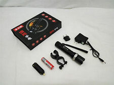 127. LONGFIRE CREE XPE Rechargeable LED Torchlight + Charger