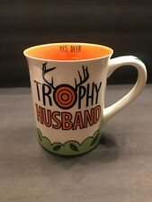 New listing Trophy Husband What A Catch Mug Gift For Hunter Fisher Colorful