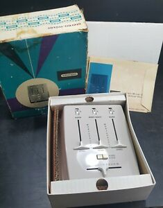 Vintage Mixer audio STEREO portatile Grundig anni 60