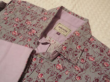 """TED BAKER Mens Shirt 🌍 Size 16"""" (44"""" CHEST) 🌎 RRP £110+ 📮FANTASTICALLY FLORAL"""