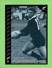 1995 NEW ZEALAND  ALL BLACKS RUGBY UNION CARD  #39  BILL  OSBORNE