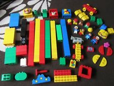 Lots Of Random, Loose Lego Duplo Bricks In Good, Clean Condition, 180 Bricks
