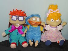 Bundle of The Rugrats in Paris Soft toys: Angelica, Tommy, Chuckie. Hard head
