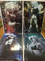 Lady Death Variant Lot #3 Malevolent Decimation Merciless Onslaught Coffin Comic