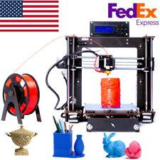 2019 Upgraded Full Quality High MK8 Precision Reprap Prusa i3 DIY 3d Printer CTC