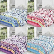 Blossom Floral Duvet Covers Quilt Covers Reversible Bedding Sets All Sizes by NZ