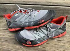 Men's Northface Litewave Ampere Cradle Sneakers Running Men's Sz 9 Red Black