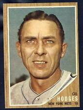 1962 Topps Gil Hodges #85 NM/MT