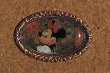 Disney Pin Minnie Mouse Bronze Frame