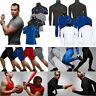 Mens Compression Base Layer Sport Tank Tops Vest T-Shirt Pants Leggings Shorts