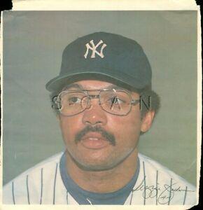Original 1978 New York Yankees Large Baseball Player Lithograph- Reggie Jackson