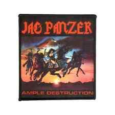 JAG PANZER Patch AMPLE DESTRUCTION closer to Heavy metal ♫ ♪ Power metal ♫