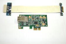 """Lot of 2 D-Link DGE-560T PCI-e Gigabit Network Cards + PE-Flex1-6"""" Bus Extenders"""