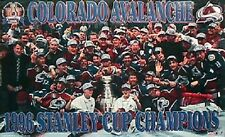 1996 Colorado Avalanche Stanley Cup Champs Original Starline Poster OOP