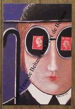Carte postale Atelier art therapie Angers,Boccacino Jean  ,  signée  CPSM