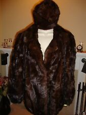 GORGEOUS NEW MINK COAT / JACKET WITH MATCHING MINK HAT