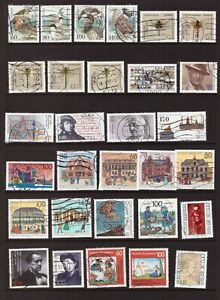 Germany 1991 used stamps selection