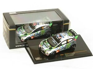 1/43 Ford Fiesta RS WRC  Hoonigan Rally Mexico 2012  #43 K.Block / A.Gelsomino