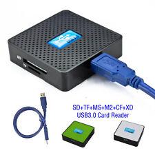 USB 3.0 Todo en uno ALTA VELOCIDAD MICRO SD TF CF XD M2 MS Multi memoria