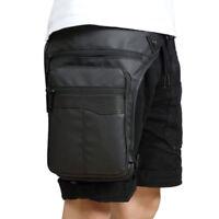 Waterproof Motorcycle Drop Leg Bag Oxford Waist Thigh Fanny Pack Belt Bum Pouch