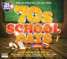 The Ultimate Collection: 70s Schooldays [2013] [Box] by Various Artists (CD, Sep-2013, 5 Discs, Ultimate Collection)