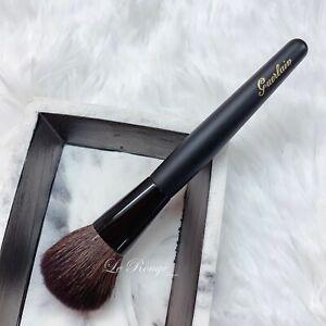 Guerlain powder / bronzer brush * natural hair full size , brand new