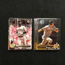 2017 BOWMAN PITSBURGH PIRATES TEAM SET 15 CARDS  WITH AUSTIN MEADOWS CHROME +