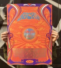 Lockn Festival 2016 Official 18x24 Poster Signed & Numbered A/E Foil #/30