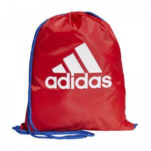 ADIDAS Gym Sack Bag Drawstring Backpack Sport Pack School Training Travel + Gift