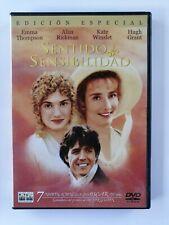 1 DVD sentido e sensibilidad special edition