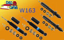 SET 4x NEW MERCEDES W163 M-CLASS ML 98-05 FRONT REAR SHOCK ABSORBERS SHOCKERS