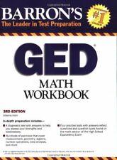 Barron s GED Math Workbook  Barron s  The Leader in Test Preparation