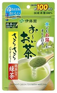 Itoen Oi Otcha Instant Japanese GreenTea Powder with Matcha1oz(100cups)fromJapan