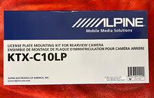 Alpine KTX-C10LP License Plate Mounting Kit