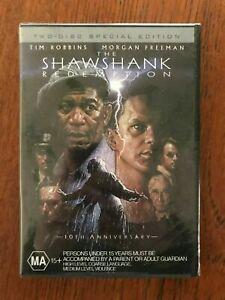The Shawshank Redemption DVD 2 Disc Edition Region 4 New & Sealed