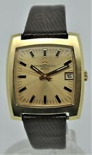 Eterna-Matic 2002 gold plated automatic gents watch