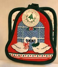 "New listing ""Brand New� Vintage Christmas Goose Oven Mitt Set Of (2)"