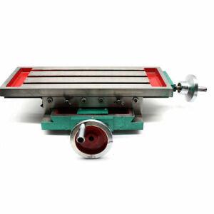 Neu Multifunktions-Fräs-Arbeitstisch Fräsmaschine Kreuztisch Werkzeugmaschinen