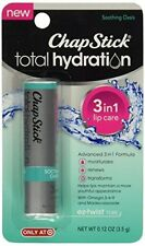6 Pack ChapStick Total Hydration 3 in 1 Soothing Oasis 1 Count Each