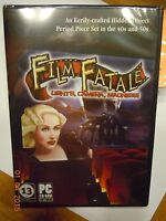 Film Fatale: Lights, Camera, Madness! Game (PC-CD, 2012) Windows - NEW Sealed