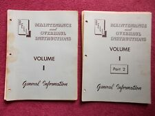 BELL 47 HELICOPTER General Information Maint. & Overhaul Instructions Volume 1
