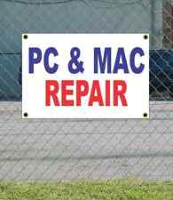 2x3 PC & MAC REPAIR Red White & Blue Banner Sign NEW Discount Size & Price