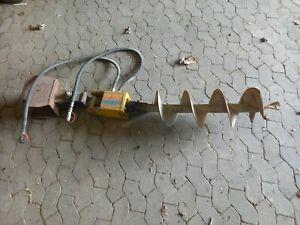Erdbohrer für Minibagger