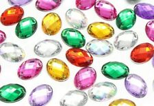 18x13mm Shape/ Sew On Flatback Rhinestones 36pcs Crystals Stones/ Gem Stones