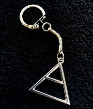 30 Seconds To Mars Triad Key Chain Triangle Keyring Echelon Pendant Jared Leto