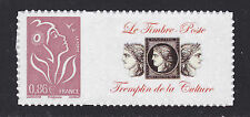 "FRANCE  N° 3969A ** MNH, PERSONNALISE ""Culture"" ADHESIF, TB"
