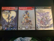 Kingdom Hearts PS2 Lot Bundle 1 2 II RE Chain Memories Sony Playstation 2