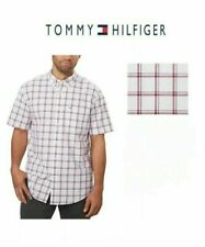 Tommy Hilfiger Classic Fit Short Sleeve Woven Shirt Men's Size XXL NWT D7